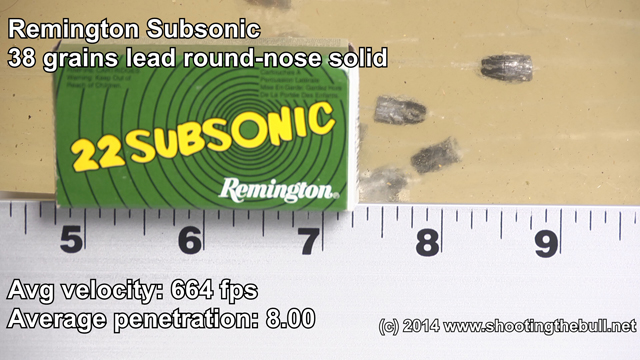 Remington-subsonic